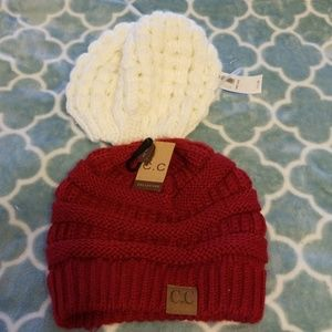 Beanies...Lot of two...C.C & Old Navy...NWT